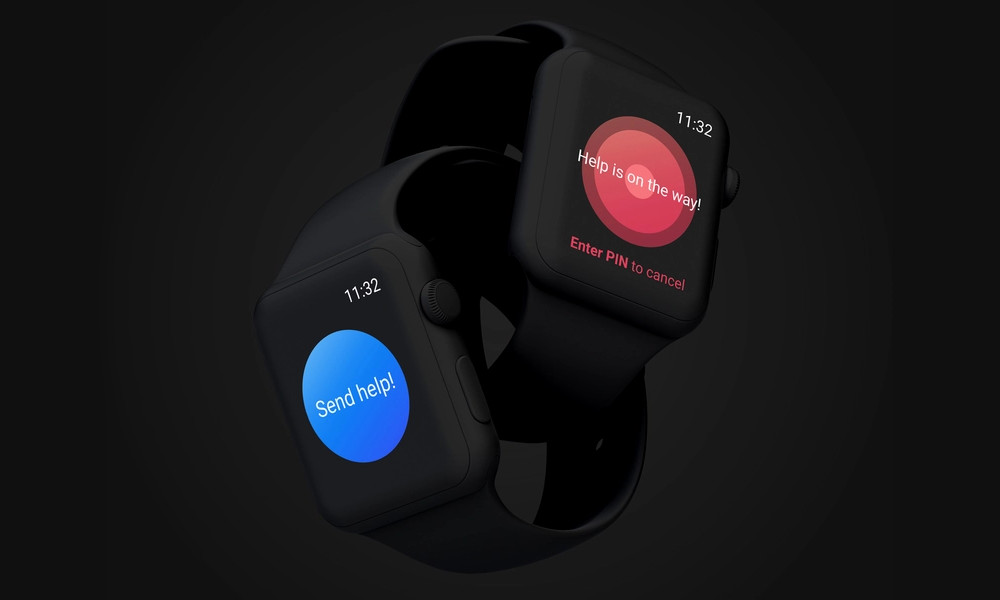 Noonlight Apple Watch